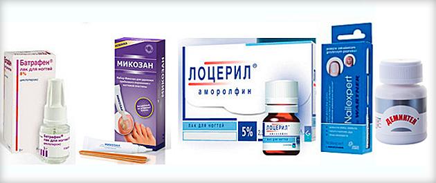 фото эффективные средства для лечения грибка ногтей
