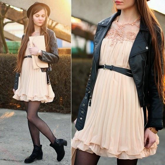 Платье с курткой