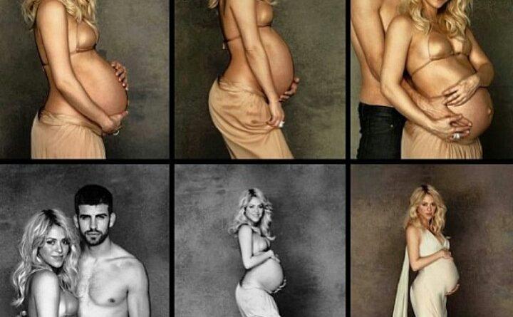 беременность на фото