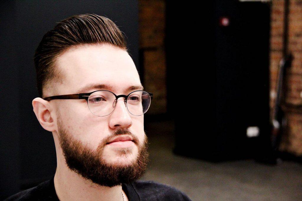 Оформленная борода и хорошая стрижка