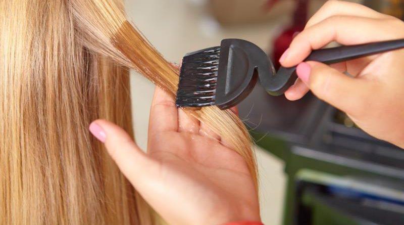 постепенное перекрашивание волос