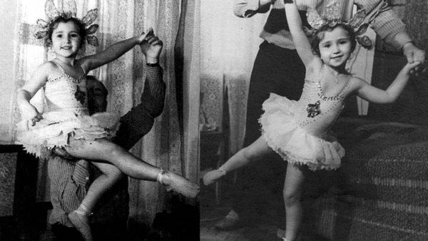 юная балерина Ирина Аллегрова