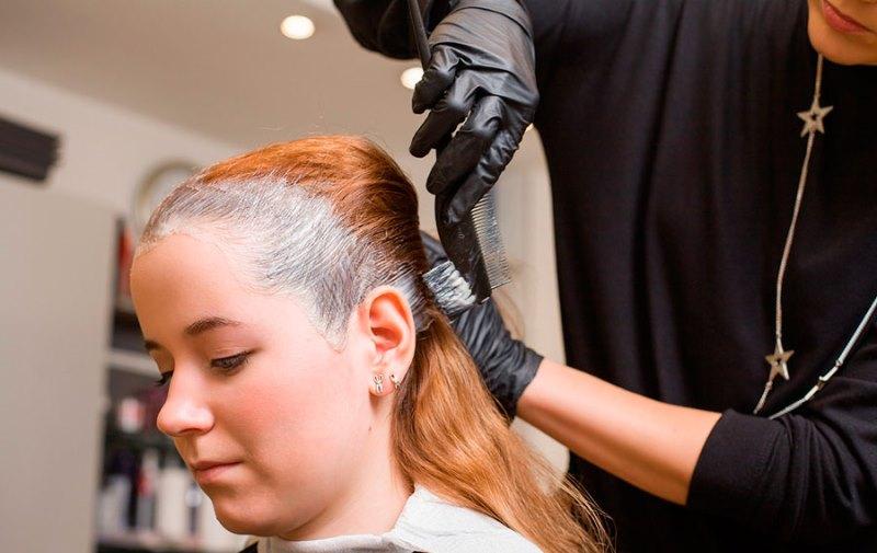 Препигментация волос перед покраской
