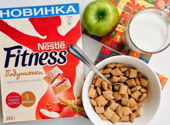 завтрак Ани