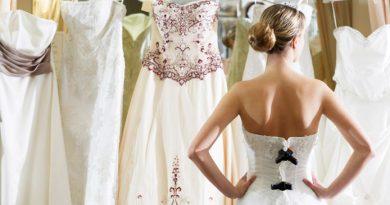 Подгонка свадебного платья по фигуре
