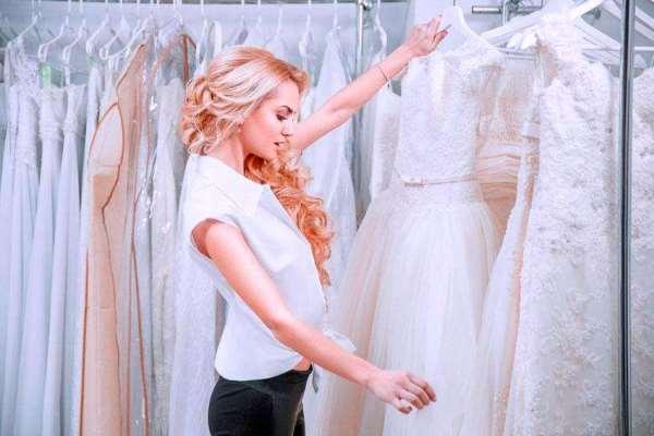 рассмотреть свадебное платье