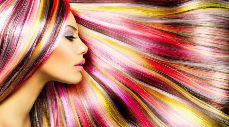 марморирование волос