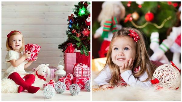 новогодняя фотосессия для ребенка