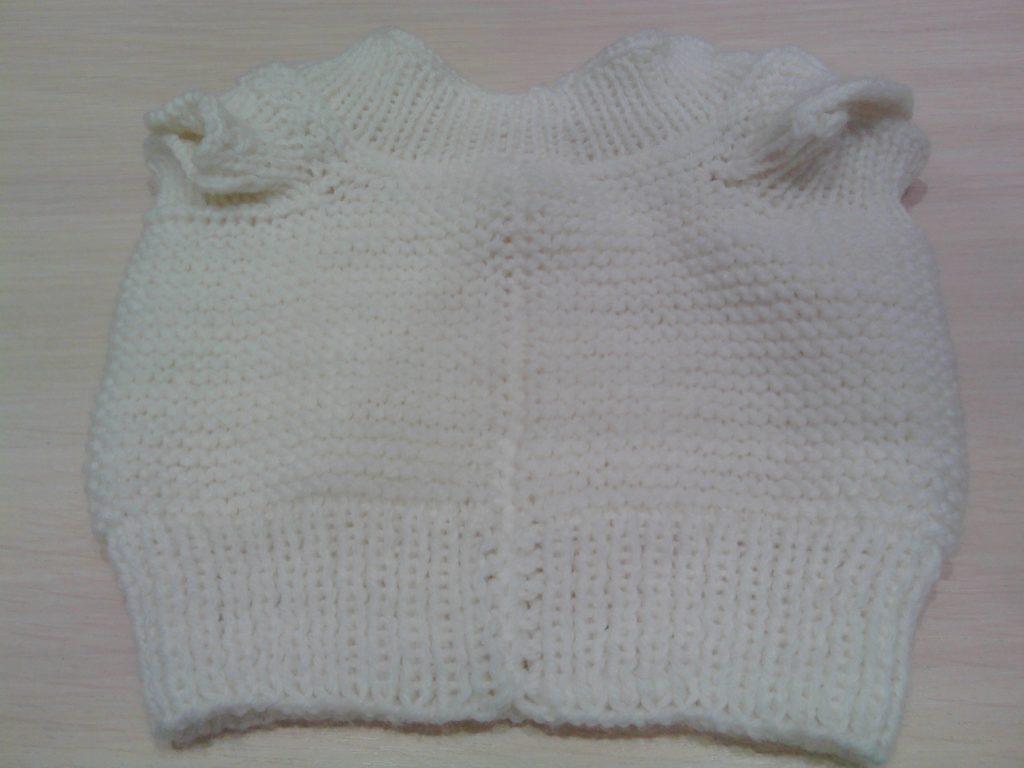 вязание спицами свитера собаке