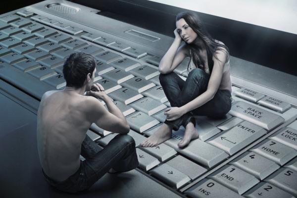 виртуальные романтические отношения