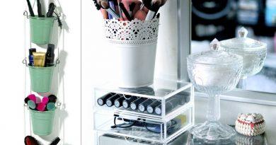 Где хранить кисти для макияжа