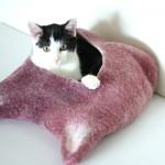 Лежанка для кошек 1