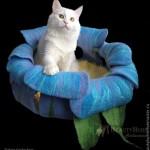 Лежанка для кошек 5