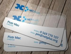 Пластиковые визитки 2