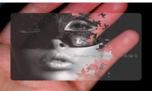 Пластиковые визитки 1