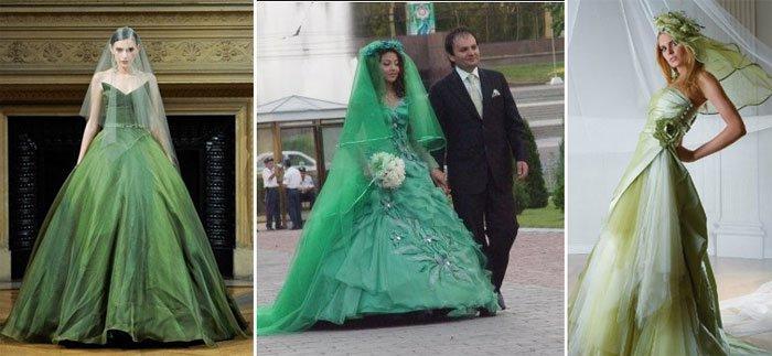 Кому подойдут платья зеленых оттенков