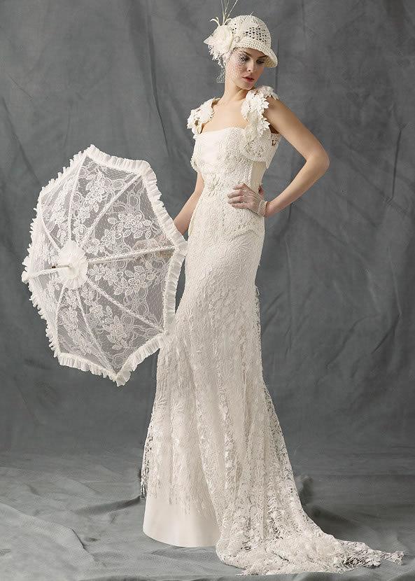 Свадебное платье ретро