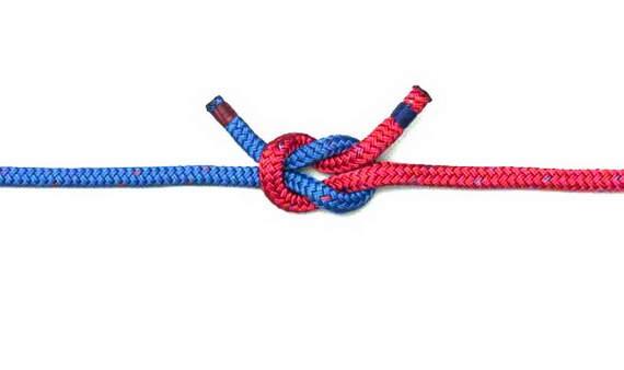Прямой или геркулесовый узел