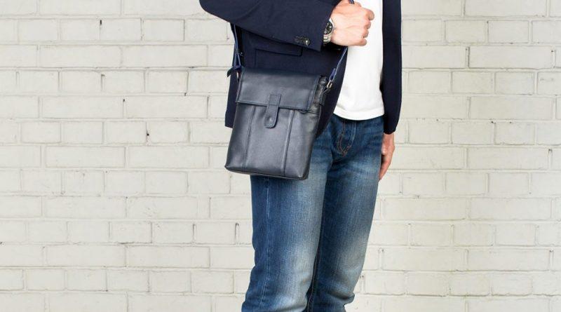 Как выбрать сумочку для мужчины