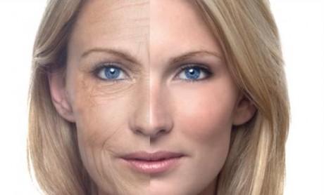 Молодое и старое лицо у девушки
