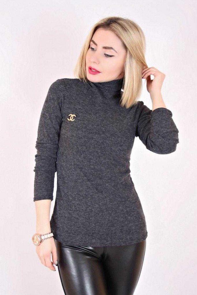 Ангоровый свитер от Шанель