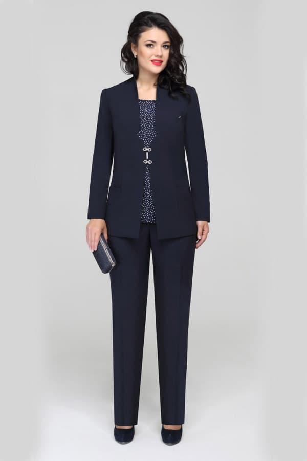 Пиджак с классическими брюками
