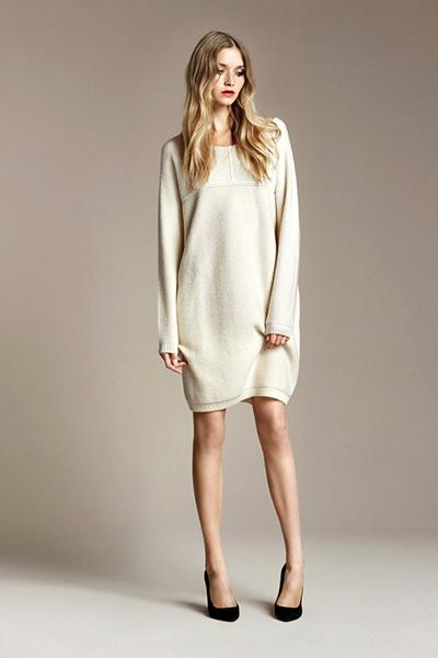 трикотажное платье мешок