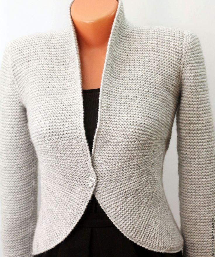 Вязанный пиджак