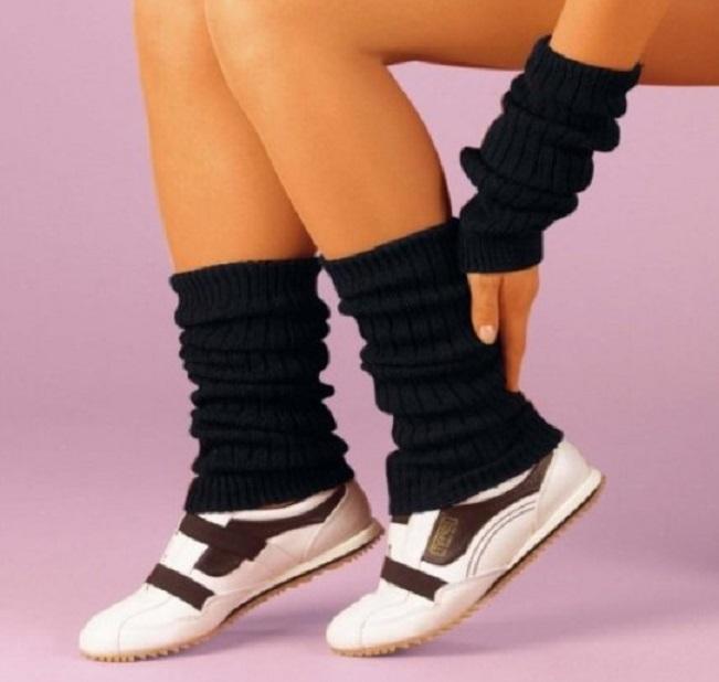 Гетры с кроссовками
