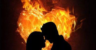 Любовь как костер или как пламя свечи