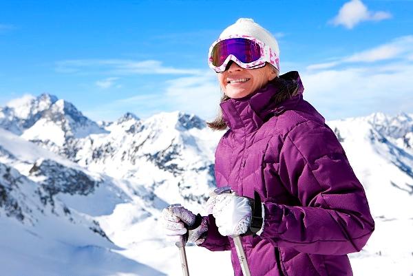 пуховик для лыжника