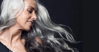 Как выглядеть красиво с седыми волосами