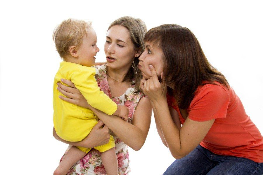 Мама и тетя воспитание