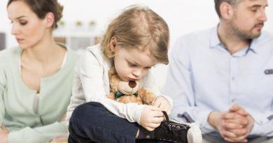 Развод родителей - стресс для ребенка
