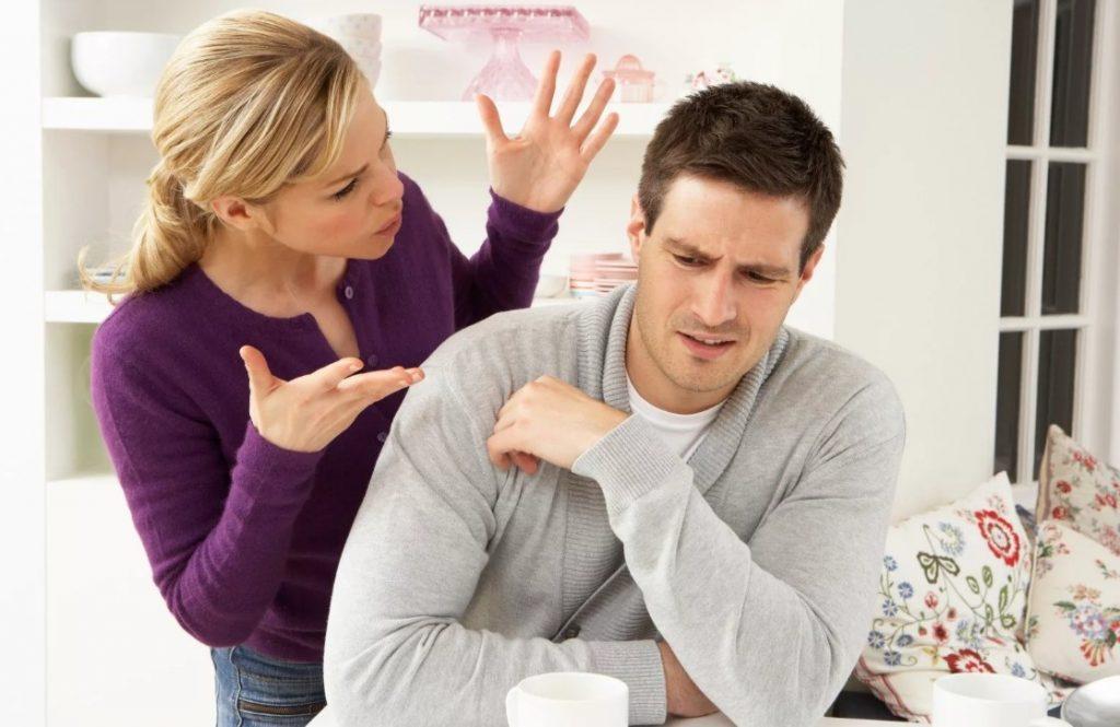 Критиковать мужа