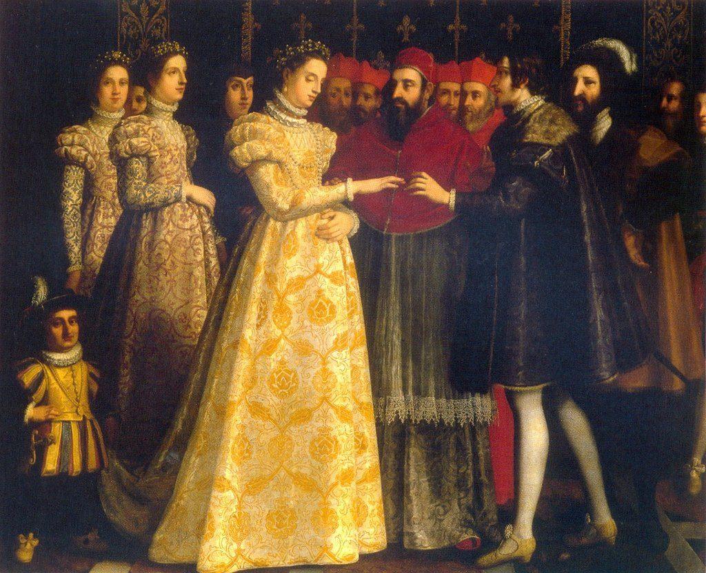 Екатерина Медичи королева Франции