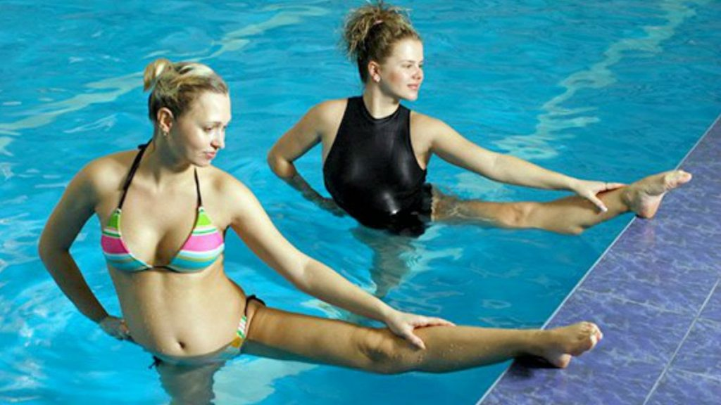 Аква-упражнения для беременных