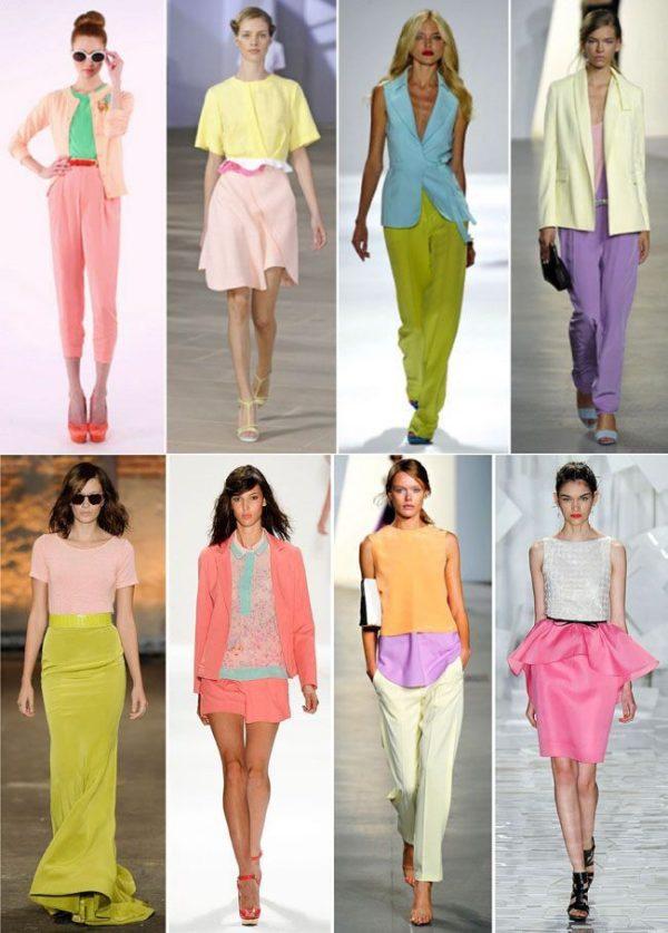 Модные сочетания цветов