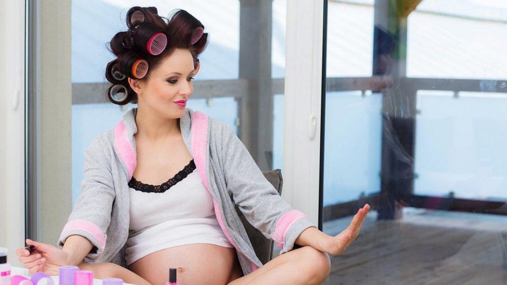 Волосы и ногти во время беременности