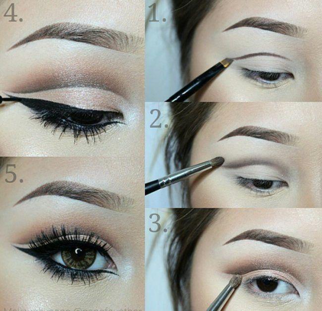 Нанесение макияжа для азиатских глаз