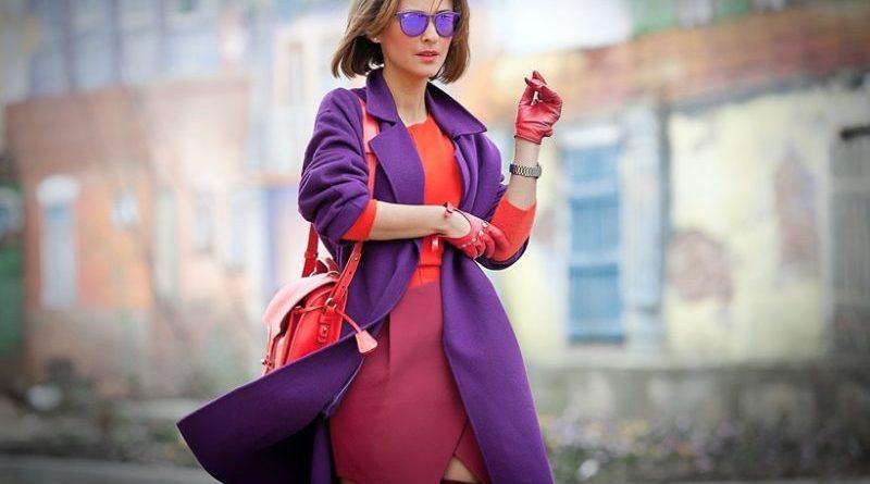 Модные сочетания цветов в одежде 2019