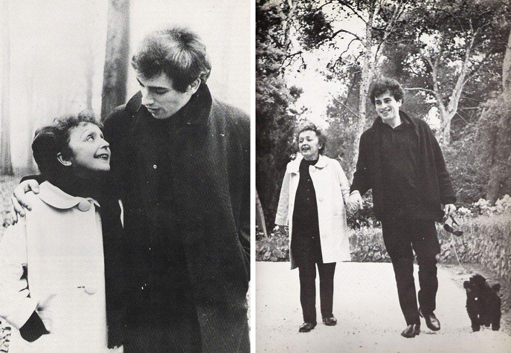 Эдит Пиаф с мужем Тео Сарапо