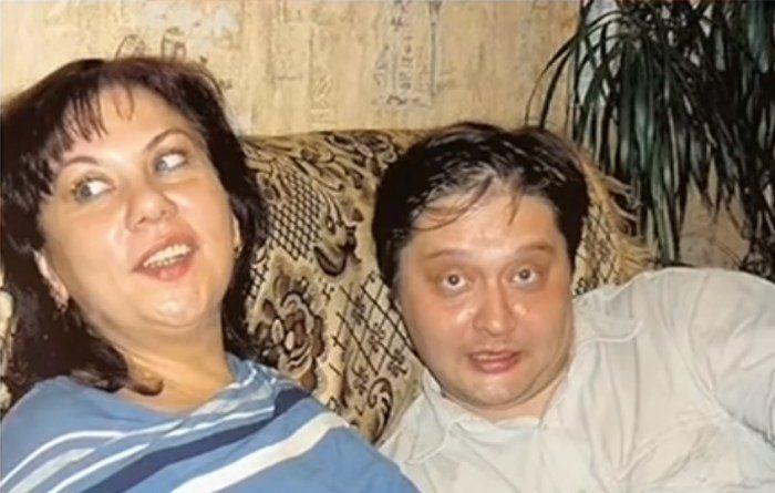 Марина Федункив с первым мужем