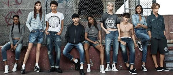 Нью-Йоркские джинсы DKNY