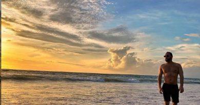 Камбаров, закат, Бали