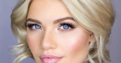 макияж для голубоглазых