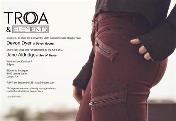 Troa - экологичные джинсы