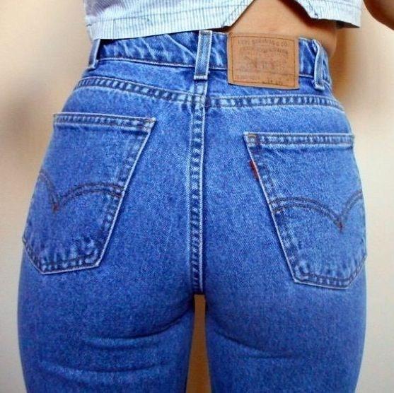 Джинсы мамы (Mom jeans)