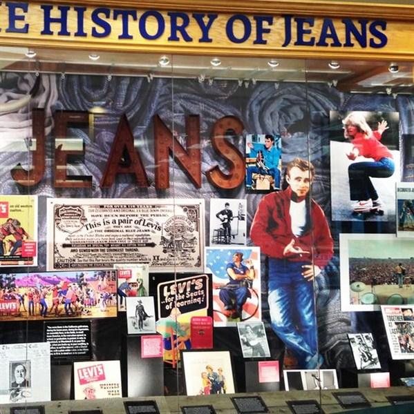 История мировой популярности джинс