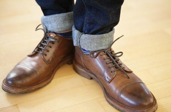 Джинсовая обувь на все времена